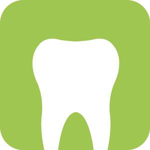 Zahnersatz poliert